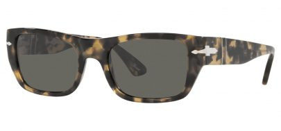 Persol PO3268S Prescription Sunglasses - Brown Beige Havana / Dark Grey
