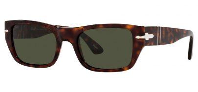 Persol PO3268S Prescription Sunglasses - Havana / Green