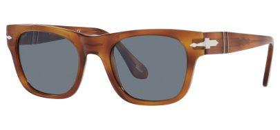 Persol PO3269S Prescription Sunglasses - Terra di Siena / Light Blue