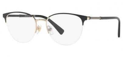 Versace VE1247 Glasses - Black & Pale Gold