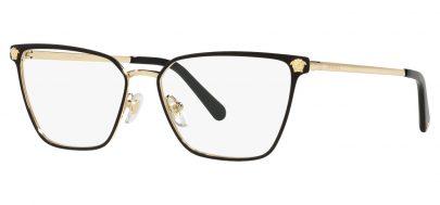 Versace VE1275 Glasses - Black & Gold