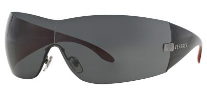 Versace VE2054 Sunglasses - Gunmetal / Grey