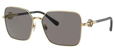 Versace VE2227 Sunglasses - Gold / Dark Grey