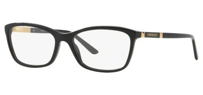 Versace VE3186 Glasses - Black & Gold