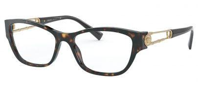 Versace VE3288 Glasses - Havana