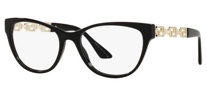 Versace VE3292 Glasses - Black & Gold