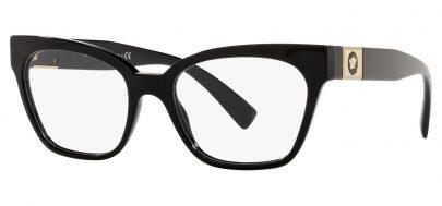 Versace VE3294 Glasses - Black & Gold