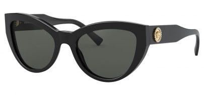 Versace VE4381B Prescription Sunglasses - Black / Grey