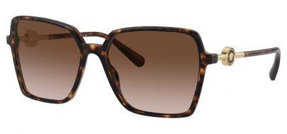 Versace VE4396 Sunglasses - Havana / Brown Gradient