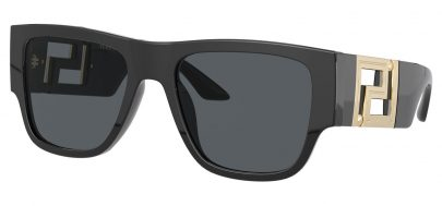 Versace VE4403 Sunglasses - Black / Dark Grey