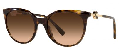 Versace VE4404 Prescription Sunglasses - Havana / Brown Gradient