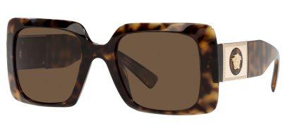 Versace VE4405 Prescription Sunglasses - Havana / Brown