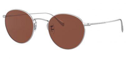 Oliver Peoples OV1186S Coleridge Prescription Prescription Sunglasses - Silver / Rosewood