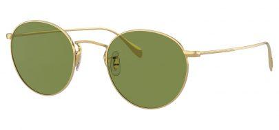 Oliver Peoples OV1186S Coleridge Prescription Sunglasses - Gold / Green C