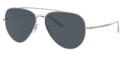 Oliver Peoples OV1277ST Casse Prescription Sunglasses - Silver / Blue