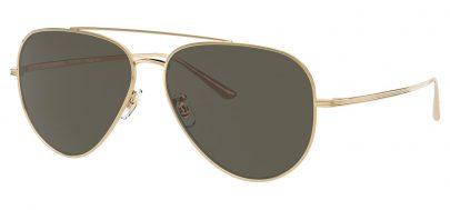 Oliver Peoples OV1277ST Casse Prescription Sunglasses - Gold / G15 Polarised