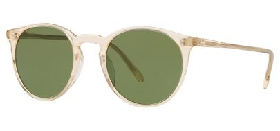 Oliver Peoples OV5183S O'Malley Prescription Sunglasses - Buff / Green C