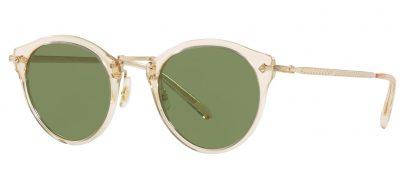 Oliver Peoples OV5184S OP-505 Prescription Sunglasses - Buff / Green C