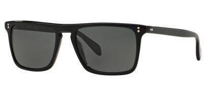Oliver Peoples OV5189S Bernardo Prescription Sunglasses - Black / Midnight Express Polarised