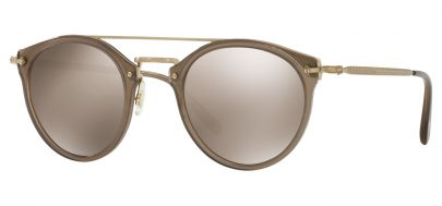 Oliver Peoples OV5349S Remick Prescription Sunglasses - Taupe / Taupe Flash Mirror
