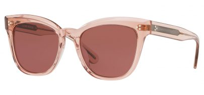 Oliver Peoples OV5372SU Marianela Prescription Sunglasses - Washed Rose / Burgundy Gold