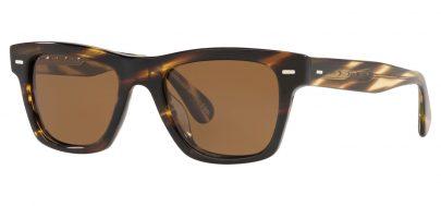 Oliver Peoples OV5393SU Oliver Prescription Sunglasses - Cocobolo / True Brown Polarised