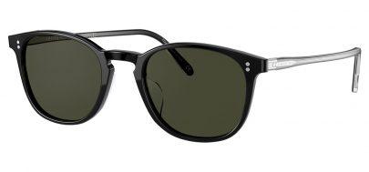 Oliver Peoples OV5397SU Finley Vintage Prescription Sunglasses - Black / G15 Polarised