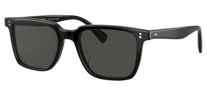 Oliver Peoples OV5419SU Lachman Prescription Sunglasses - Black / Midnight Express Polarised