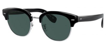 Oliver Peoples OV5436S Cary Grant 2 Prescription Sunglasses - Grant Tortoise / Jade Polarised
