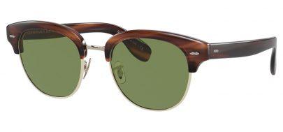 Oliver Peoples OV5436S Cary Grant 2 Prescription Sunglasses - Black / Blue Polarised