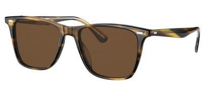 Oliver Peoples OV5437SU Ollis Prescription Sunglasses - Cocobolo / True Brown Polarised
