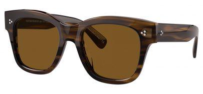 Oliver Peoples OV5442SU Melery Prescription Sunglasses - Bark / Brown Polarised