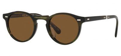 Oliver Peoples OV5456SU Gregory Peck 1962 Prescription Sunglasses - Emerald Bark / True Brown