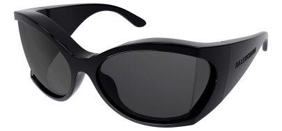 Balenciaga BB0154S Prescription Sunglasses - Black / Grey