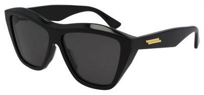 Bottega Veneta BV1092S Sunglasses - Black / Grey