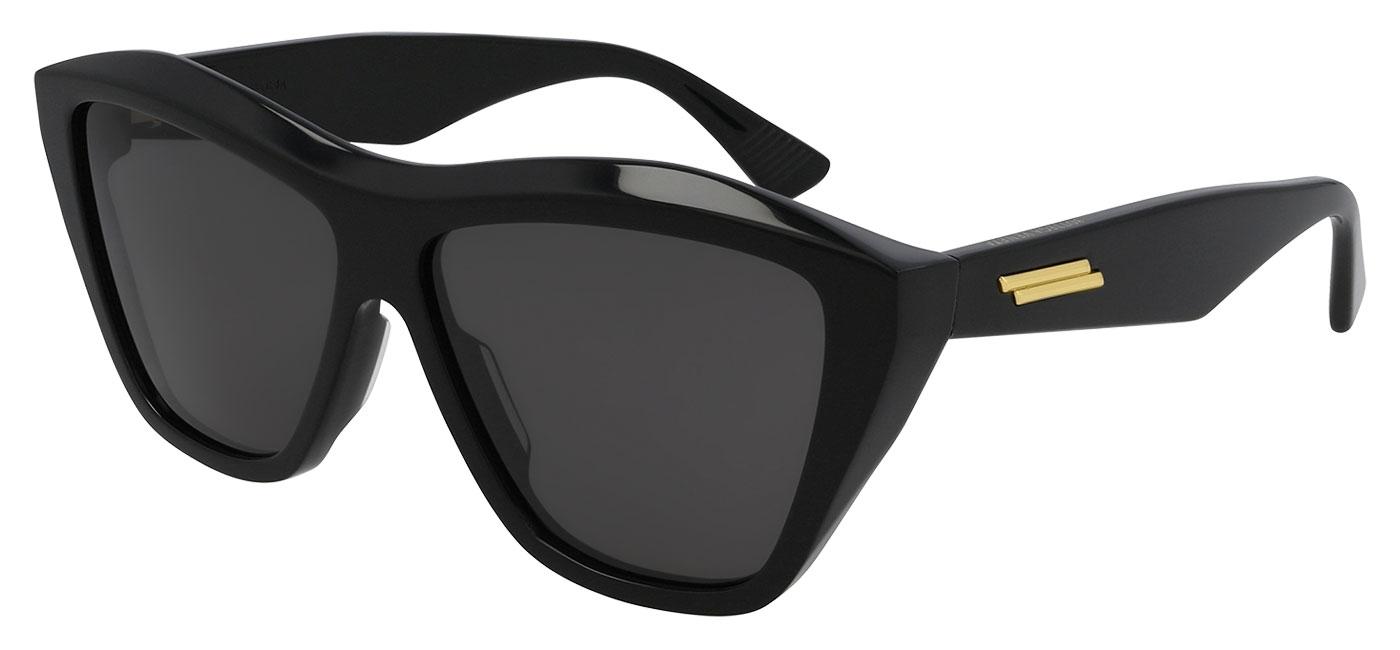 Bottega Veneta BV1092S Sunglasses – Black / Grey 1