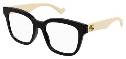 Gucci GG0958O Glasses - Black & White