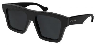 Gucci GG0962S Sunglasses - Black / Grey