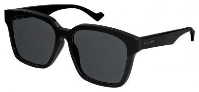 Gucci GG0965SA Sunglasses - Black / Grey