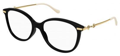 Gucci GG0967O Glasses - Black & Gold