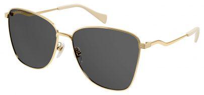 Gucci GG0970S Sunglasses - Gold / Grey
