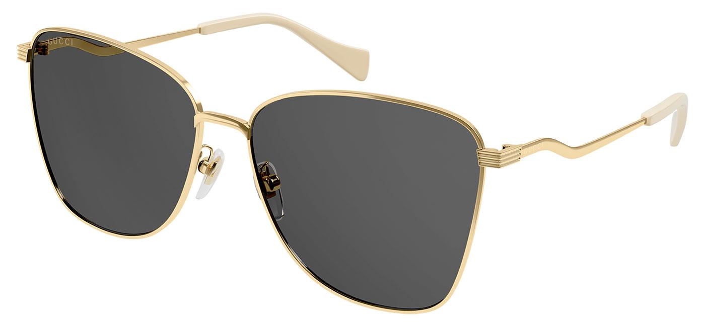 Gucci GG0970S Sunglasses – Gold / Grey 1