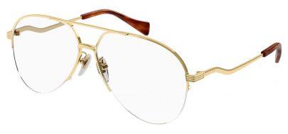 Gucci GG0971O Glasses - Gold