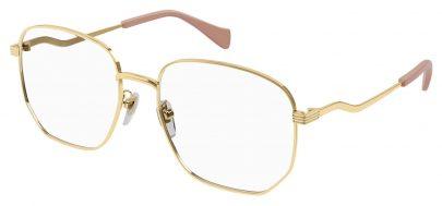 Gucci GG0973O Glasses - Gold