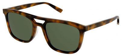 Saint Laurent SL 455 Sunglasses - Havana / Green