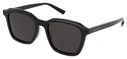 Saint Laurent SL 457 Sunglasses - Black / Black