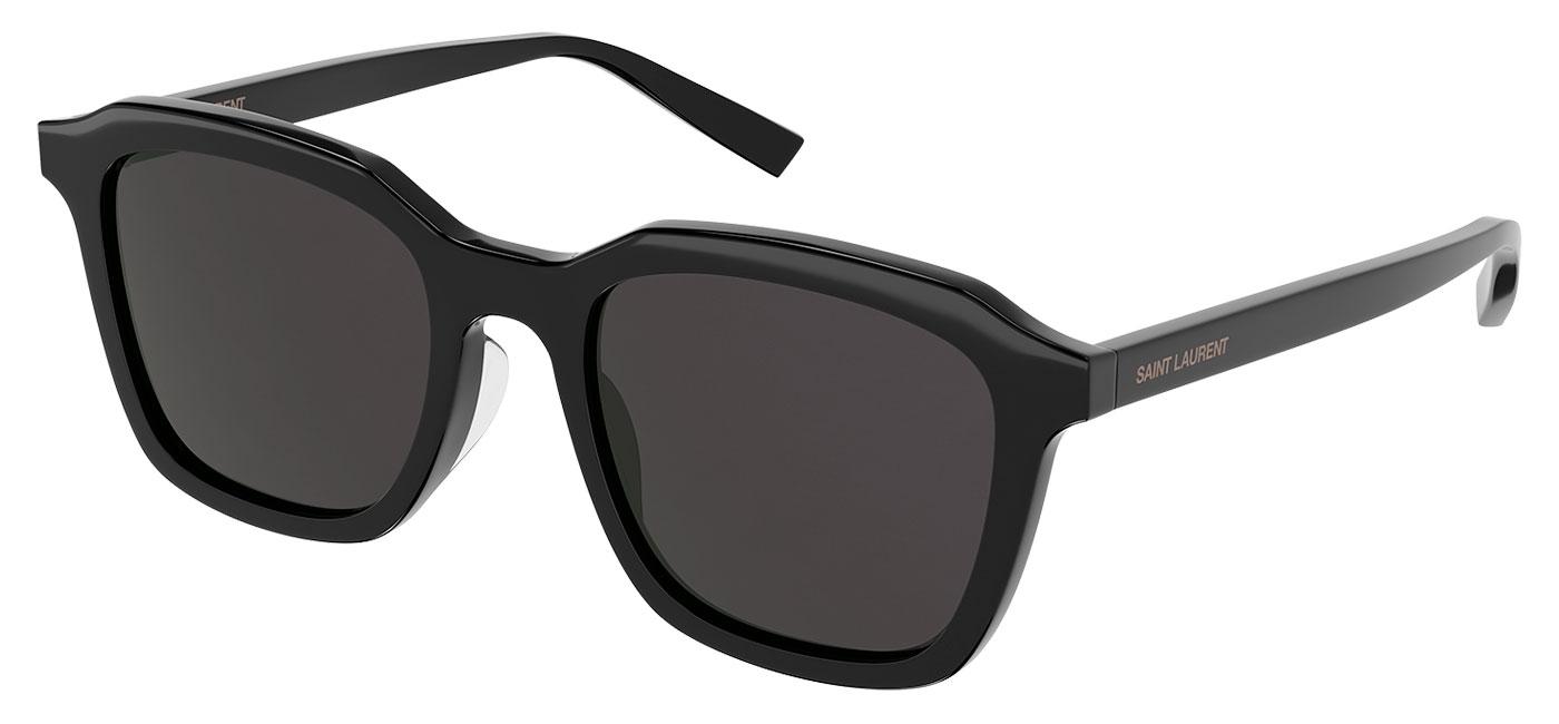 Saint Laurent SL 457 Sunglasses – Black / Black 1
