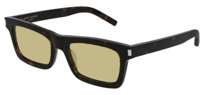 Saint Laurent SL 461 BETTY Prescription Sunglasses - Havana / Yellow