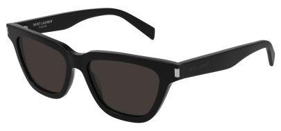 Saint Laurent SL 462 SULPICE Prescription Sunglasses - Black / Black