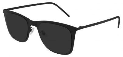 Saint Laurent SL 51 SLIM METAL Prescription Sunglasses - Black / Black